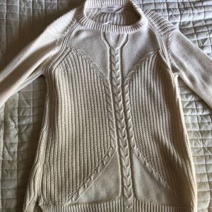 ZARA knit cream sweater